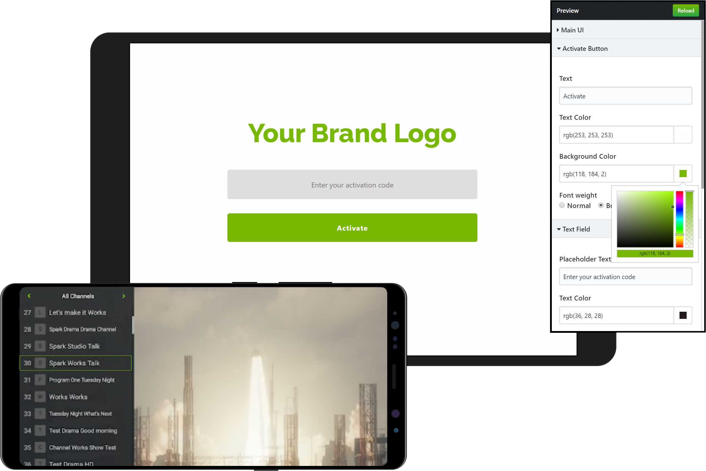 ZalTV Platform Customize App